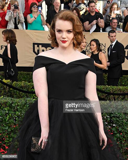 Actor Shannon Purser attends The 23rd Annual Screen Actors Guild Awards at The Shrine Auditorium on January 29 2017 in Los Angeles California...
