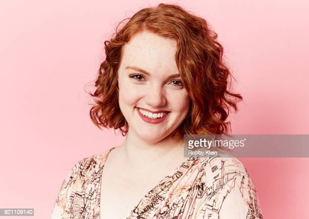 Actor Shannon Purser from Netflix's 'Stranger Things' poses for a portrait during ComicCon 2017 at Hard Rock Hotel San Diego on July 22 2017 in San...