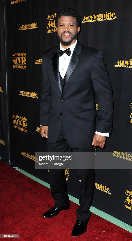 Actor <a gi-track='captionPersonalityLinkClicked' href=/galleries/search?phrase=Sharif+Atkins&family=editorial&specificpeople=2647537 ng-click='$event.stopPropagation()'>Sharif Atkins</a> attends the 21st Annual Movieguide Awards held at the Universal Hilton Hotel on February 15, 2013 in Universal City, California.