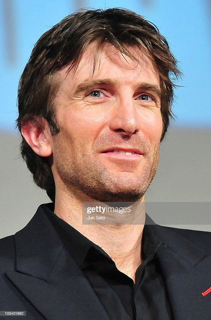 Actor Sharlto Copley arrives at 'The ATeam' movie premiere on August 16 2010 in Tokyo Japan The film will open on August 20 in Japan