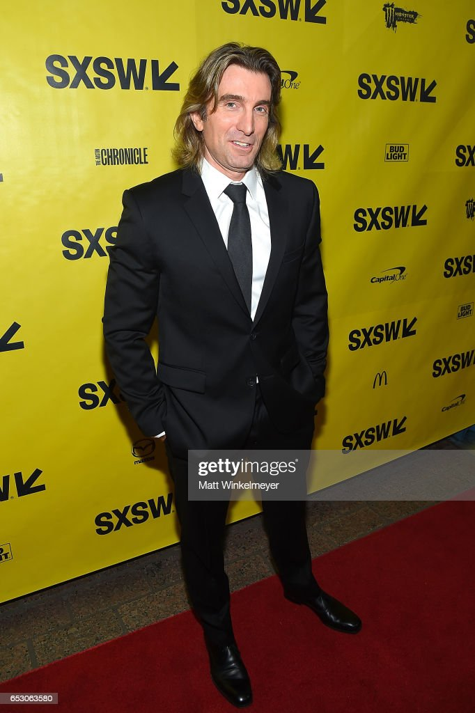 Actor Sharlto Copley attends the 'FREE FIRE' premiere 2017 SXSW Conference and Festivals on March 13, 2017 in Austin, Texas.