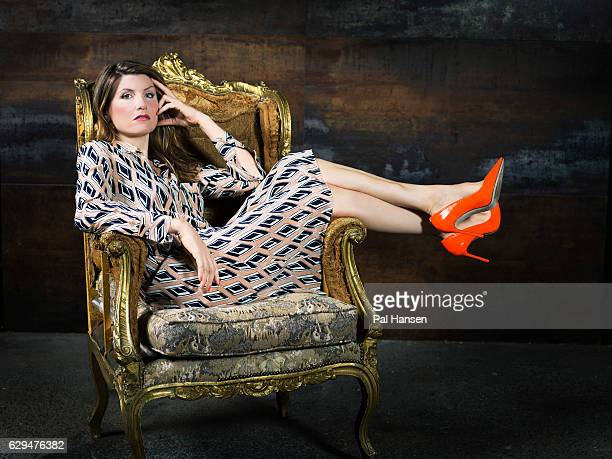 Actor Sharon Horgan is photographed for the Observer on September 23 2016 in London England