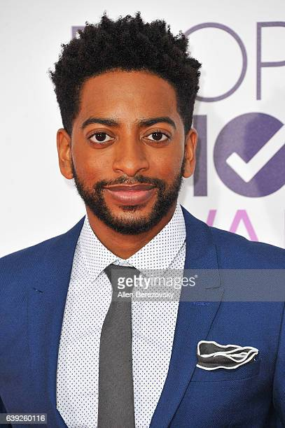 Actor Shaun Brown arrives at People's Choice Awards 2017 at Microsoft Theater on January 18 2017 in Los Angeles California