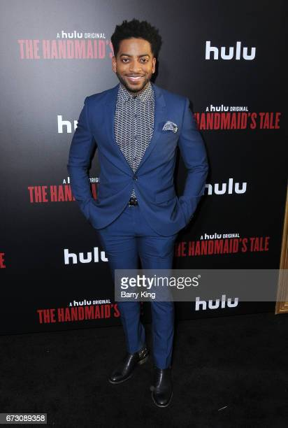 Actor Shaun Brown attends premiere of Hulu's 'The Handmaid's Tale' at ArcLight Cinemas Cinerama Dome on April 25 2017 in Hollywood California