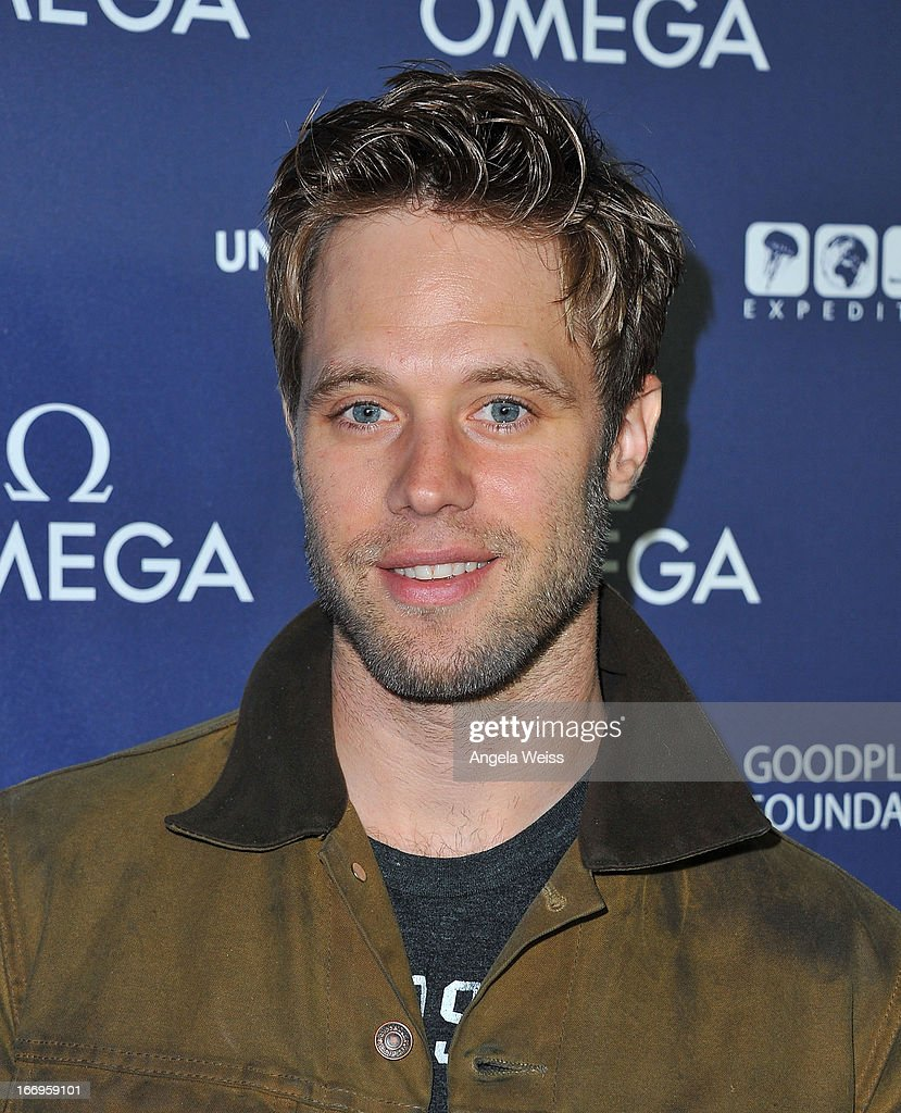 Actor <a gi-track='captionPersonalityLinkClicked' href=/galleries/search?phrase=Shaun+Sipos&family=editorial&specificpeople=660503 ng-click='$event.stopPropagation()'>Shaun Sipos</a> attends the US launch of 'Planet Ocean' presented by Omega Watches at Pacific Design Center on April 18, 2013 in West Hollywood, California.