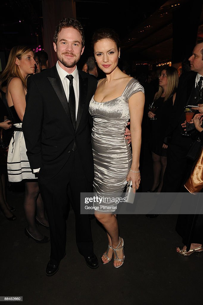 Actor Shawn Ashmore and actress Lisa Marcos attend Canadian Film Centre 2009 Gala and Auction>> at the Kool Haus on February 11, 2009 in Toronto, Ontario, Canada.