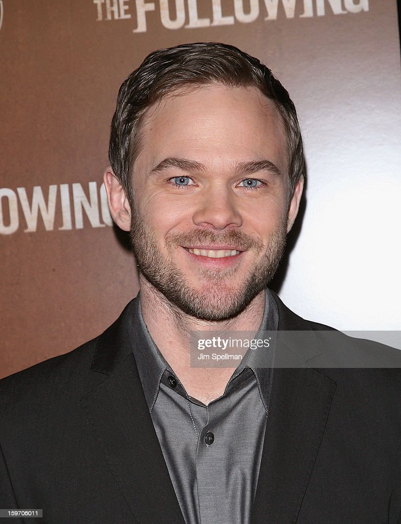 Actor Shawn Ashmore attends 'The Following' New York Premiere at New York Public Library - Astor Hall on January 18, 2013 in New York City.