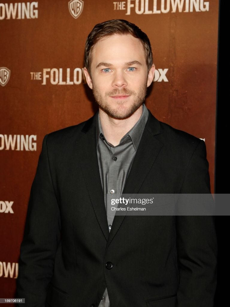 Actor Shawn Ashmore attends 'The Following' premiere at The New York Public Library on January 18, 2013 in New York City.