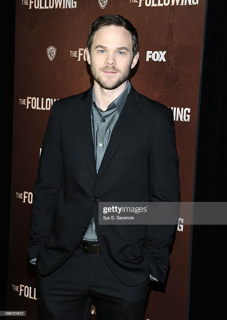 Actor <a gi-track='captionPersonalityLinkClicked' href=/galleries/search?phrase=Shawn+Ashmore&family=editorial&specificpeople=229029 ng-click='$event.stopPropagation()'>Shawn Ashmore</a> attends 'The Following' World Premiere at The New York Public Library on January 18, 2013 in New York City.