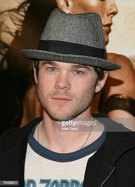 Actor Shawn Ashmore attends the Warner Bros premiere of '300' held at Grauman's Chinese theater on March 5 2007 in Hollywood California