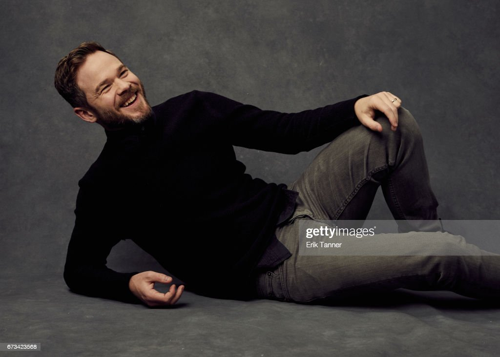 Actor Shawn Ashmore from 'Devil's Gate' poses at the 2017 Tribeca Film Festival portrait studio on on April 24, 2017 in New York City.