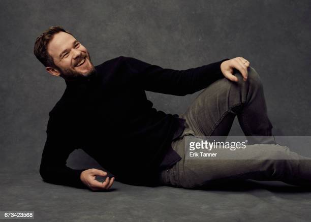 Actor Shawn Ashmore from 'Devil's Gate' poses at the 2017 Tribeca Film Festival portrait studio on on April 24 2017 in New York City