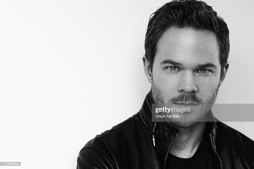 Actor Shawn Ashmore is photographed for August Man on March 21, 2013 in New York City.