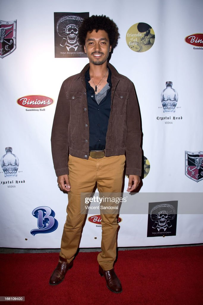 Actor Shawn Carter Peterson attends the 10th annual anniversary and Cinco De Mayo benefit with annual Charity Celebrity Poker Tournament at Velvet Margarita on May 4, 2013 in Hollywood, California.