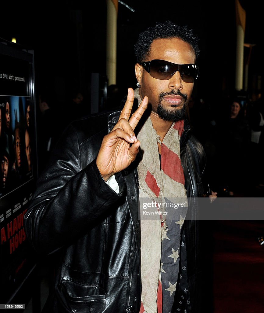 Actor Shawn Wayans arrives at the premiere of Open Road Films' 'A Haunted House' at the Arclight Theatre on January 3, 2013 in Los Angeles, California.