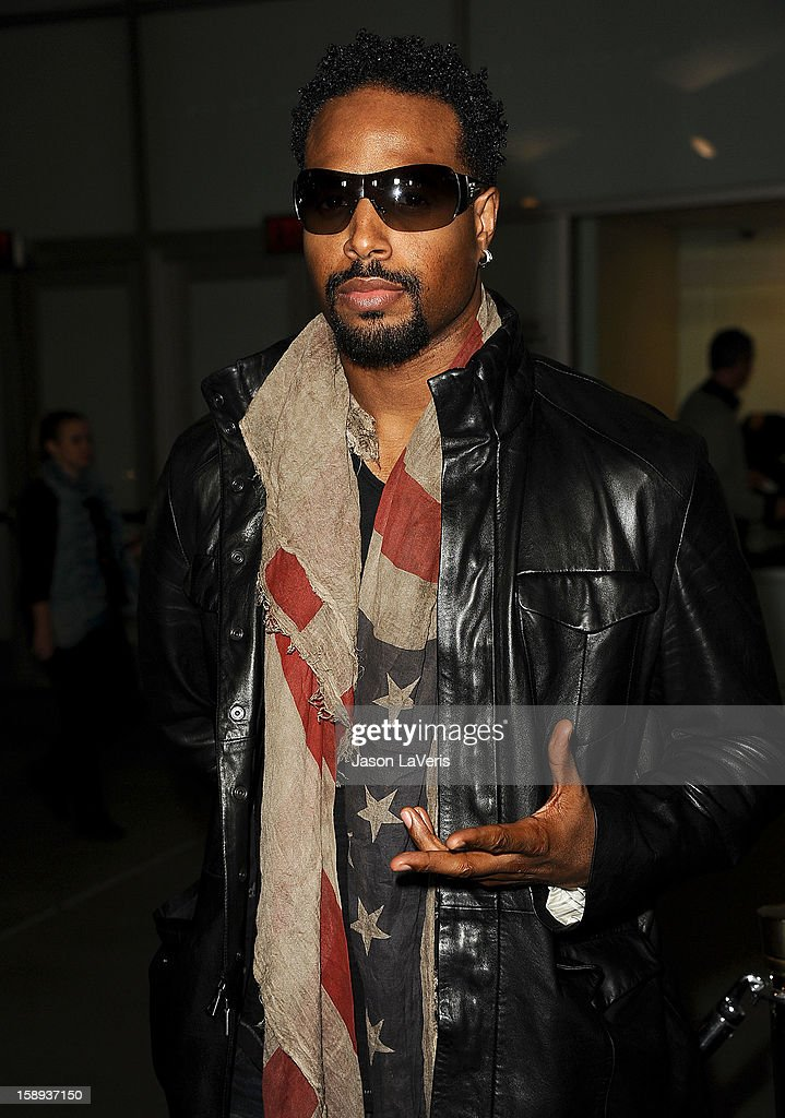 Actor Shawn Wayans attends the premiere of 'A Haunted House' at ArcLight Hollywood on January 3, 2013 in Hollywood, California.