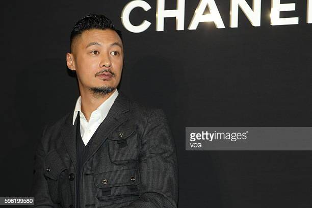 Actor Shawn Yue attends a launch event of Chanel wristwatches on August 31 2016 in Hong Kong China