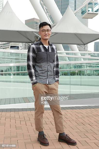 Actor Shawn Yue poses for photos during the shooting of film 'Love Off The Luff' on November 8 2016 in Hong Kong China