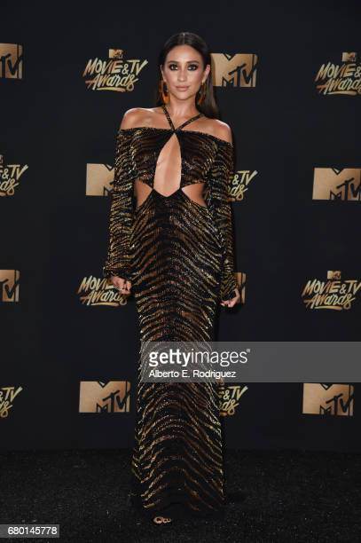 Actor Shay Mitchell attends the 2017 MTV Movie And TV Awards at The Shrine Auditorium on May 7 2017 in Los Angeles California