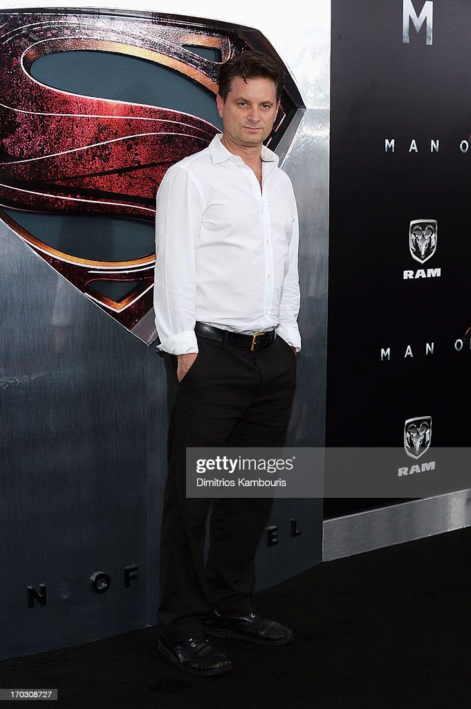 Actor Shea Whigham attends the 'Man Of Steel' world premiere at Alice Tully Hall at Lincoln Center on June 10, 2013 in New York City.