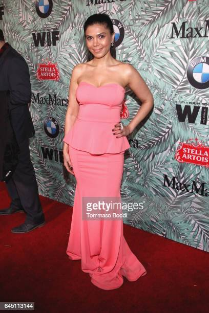 Actor Sheila Shah attends the tenth annual Women in Film PreOscar Cocktail Party presented by Max Mara and BMW at Nightingale Plaza on February 24...