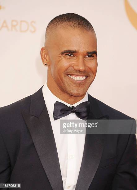Actor Shemar Moore arrives at the 65th Annual Primetime Emmy Awards at Nokia Theatre LA Live on September 22 2013 in Los Angeles California
