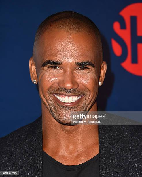 Actor Shemar Moore attends CBS' 2015 Summer TCA party at the Pacific Design Center on August 10 2015 in West Hollywood California