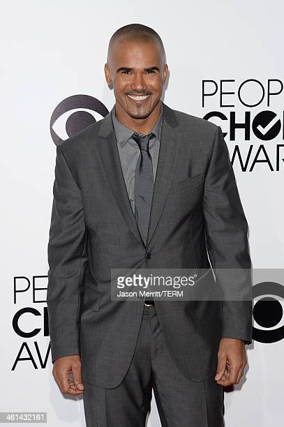 Actor Shemar Moore attends The 40th Annual People's Choice Awards at Nokia Theatre LA Live on January 8 2014 in Los Angeles California