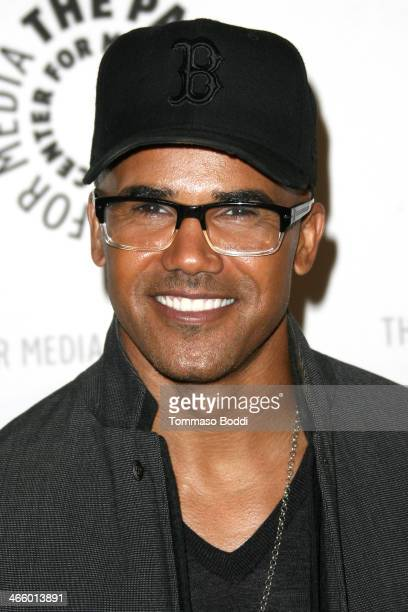 Actor Shemar Moore attends the Paley Center for Media presents 'Justice League War' west coast premiere held at The Paley Center for Media on January...