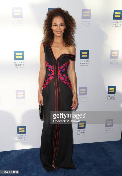 Actor Sherri Saum at The Human Rights Campaign 2017 Los Angeles Gala Dinner at JW Marriott Los Angeles at LA LIVE on March 18 2017 in Los Angeles...