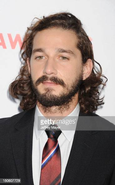 Actor Shia LaBeouf arrives at the 'Lawless' Los Angeles Premiere at ArcLight Cinemas on August 22 2012 in Hollywood California