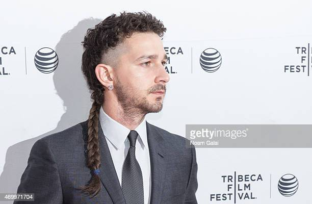 Actor Shia LaBeouf attends a screening of 'LoveTrue' during 2015 Tribeca Film Festival at SVA Theatre 2 on April 16 2015 in New York City