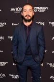 Actor Shia LaBeouf attends 'The Company You Keep' New York Premiere at The Museum of Modern Art on April 1 2013 in New York City