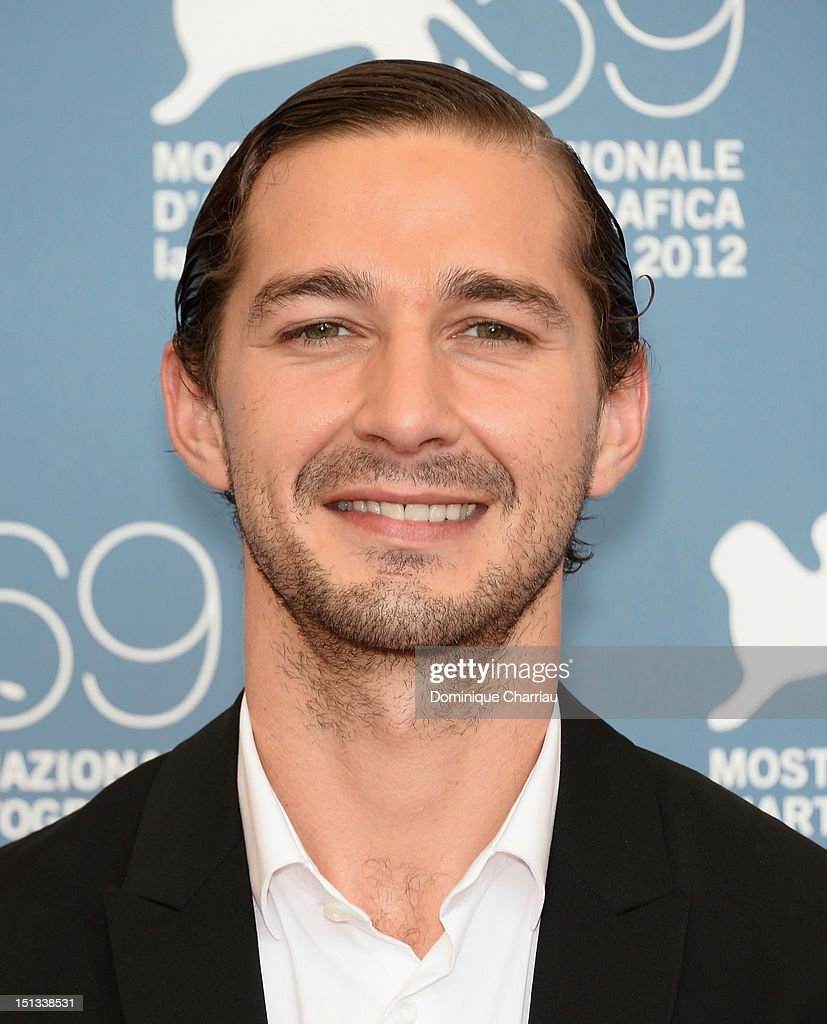 Actor Shia LaBeouf attends 'The Company You Keep' Photocall during the 69th Venice Film Festival at the Palazzo del Casino on September 6 2012 in...