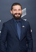 Actor Shia Labeouf attends the 'Fury' Washington DC Premiere at The Newseum on October 15 2014 in Washington DC