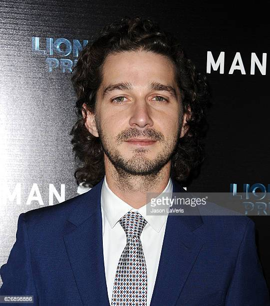 Actor Shia LaBeouf attends the premiere of 'Man Down' at ArcLight Hollywood on November 30 2016 in Hollywood California
