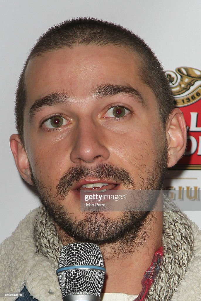 Actor Shia LaBeouf attends the Stella Artois hosted Press Junket for 'The Neccessary Death of Charlie Countryman' on January 22, 2013 in Park City, Utah.