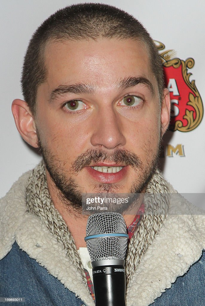 Actor <a gi-track='captionPersonalityLinkClicked' href=/galleries/search?phrase=Shia+LaBeouf&family=editorial&specificpeople=233442 ng-click='$event.stopPropagation()'>Shia LaBeouf</a> attends the Stella Artois hosted Press Junket for 'The Neccessary Death of Charlie Countryman' on January 22, 2013 in Park City, Utah.