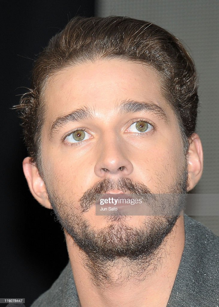 Actor Shia LaBeouf attends the 'Transformers: Dark of the Moon' press conference at the St. Regis Hotel Osaka on July 16, 2011 in Osaka, Japan. The film will open on July 29 in Japan.