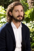 Actor Shia LaBeouf is photographed for USA Today on August 22 2012 in Los Angeles California