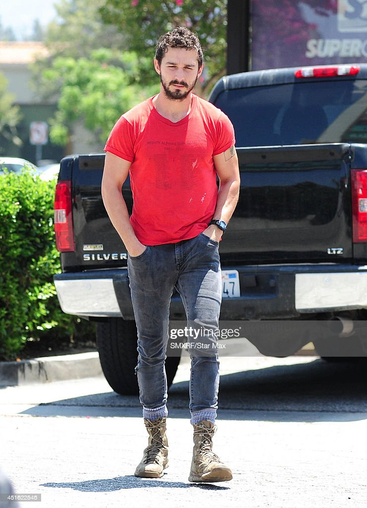Actor <a gi-track='captionPersonalityLinkClicked' href=/galleries/search?phrase=Shia+LaBeouf&family=editorial&specificpeople=233442 ng-click='$event.stopPropagation()'>Shia LaBeouf</a> is seen on July 2, 2014 in Los Angeles, California.