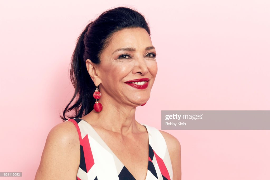 Actor Shohreh Aghdashloo from Syfy's 'The Expanse' poses for a portrait during Comic-Con 2017 at Hard Rock Hotel San Diego on July 22, 2017 in San Diego, California.