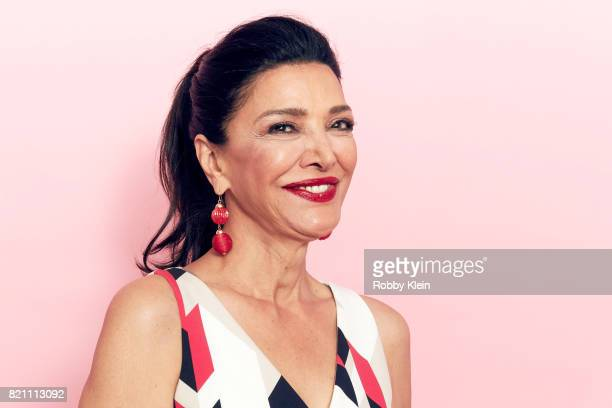 Actor Shohreh Aghdashloo from Syfy's 'The Expanse' poses for a portrait during ComicCon 2017 at Hard Rock Hotel San Diego on July 22 2017 in San...