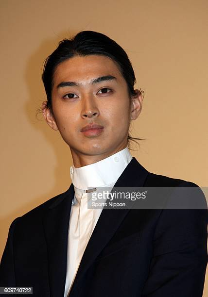 Actor Shota Matsuda attends stage greeting of film 'Liar Game' on March 3 2012 in Tokyo Japan
