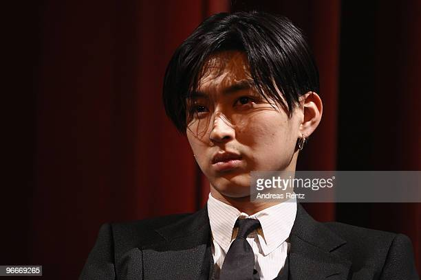 Actor Shota Matsuda attends the 'A Crowd of Three' Premiere during day three of the 60th Berlin International Film Festival at the DelphiFilmpalast...