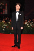 Actor Shota Sometani attends the 'Himizu' Premiere during the 68th Venice Film Festival at Palazzo del Cinema on September 6 2011 in Venice Italy