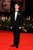 Actor Shota Sometani attends the 'Himizu' Premiere during the 68th Venice International Film Festival at Palazzo del Cinema on September 6 2011 in...