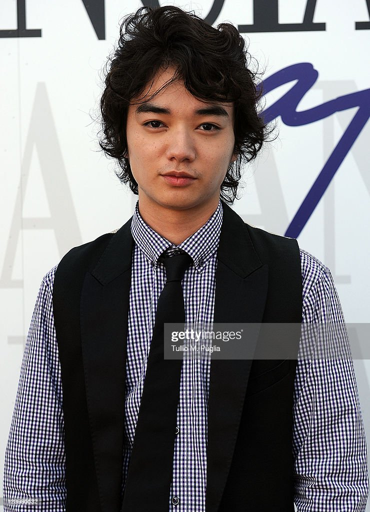actor Shota Sometani attends ther 68th Venice film festival at Lancia Cafe on September 7 2011 in Venice Italy