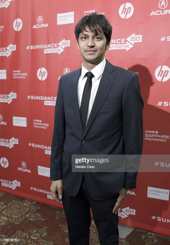 Actor Shrihari Sathe attends the 'It Felt Like Love' premiere at Yarrow Hotel Theater during the 2013 Sundance Film Festival on January 19, 2013 in Park City, Utah.