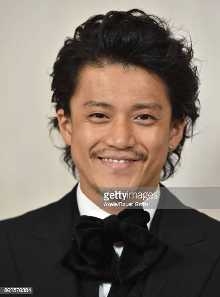Actor Shun Oguri arrives at Hammer Museum Gala in the Garden on October 14 2017 in Westwood California
